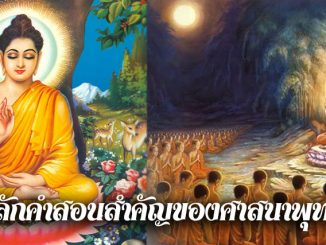 หลักคำสอนสำคัญของศาสนาพุทธ
