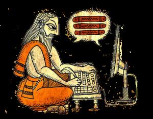การปริวรรตอักษรหรือการเขียนคำทับศัพท์ (transliteration)
